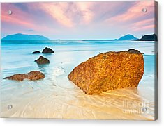 Sunrise Acrylic Print by MotHaiBaPhoto Prints
