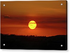 Acrylic Print featuring the photograph 4- Sunset by Joseph Keane