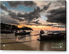 Sunset Over Koh Lipe Acrylic Print