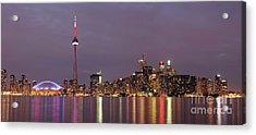 The City Of Toronto Acrylic Print by Oleksiy Maksymenko
