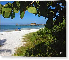 The Historic Naples Pier Acrylic Print