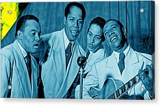 The Ink Spots Collection Acrylic Print by Marvin Blaine