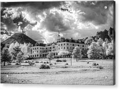 The Stanley Hotel Acrylic Print by G Wigler