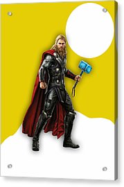 Thor Collection Acrylic Print by Marvin Blaine