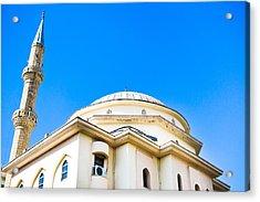 Turkish Mosque Acrylic Print by Tom Gowanlock