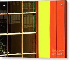 Urban Abstract Acrylic Print