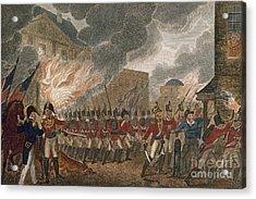 Washington Burning, 1814 Acrylic Print by Granger
