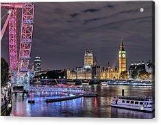 Westminster - London Acrylic Print by Joana Kruse