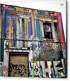 Williamsburg Graffiti Acrylic Print