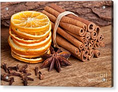 Winter Spices Acrylic Print by Nailia Schwarz