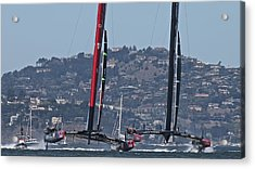 America's Cup 34 Special Acrylic Print by Steven Lapkin