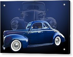 40 Ford Coupe Acrylic Print