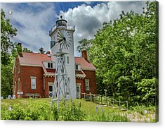 40 Mile Point Lighthouse Acrylic Print by Bill Gallagher