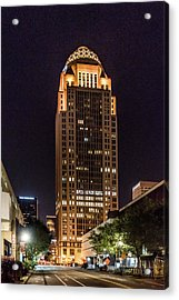 Acrylic Print featuring the photograph 400 West Market by Randy Scherkenbach