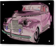 41 Chevy Acrylic Print by Ferrel Cordle