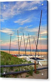 41st Street Beach In Ocean City Nj Acrylic Print