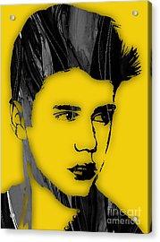 Justin Bieber Collection Acrylic Print