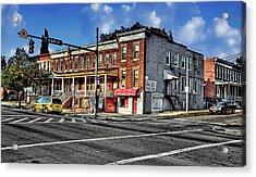43rd Street And York Road Acrylic Print