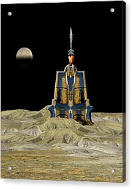 Acrylic Print featuring the photograph 4481 by Peter Holme III