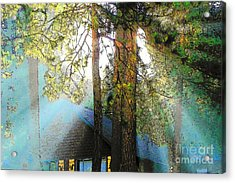Idyllwild - Houses On The Hill Acrylic Print