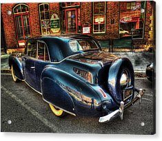 46 Continental Acrylic Print by William Fields
