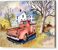 ''47'' Chevy Blues Acrylic Print