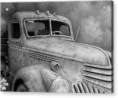 47' Chevy Flatbed Acrylic Print