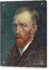 Self Portrait Acrylic Print by Vincent Van Gogh