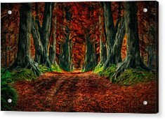Landscape Wall Art Acrylic Print
