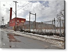 4814 Dunn Street Urban Exploration Acrylic Print by Reb Frost