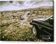 4wd On Offroad Track Acrylic Print