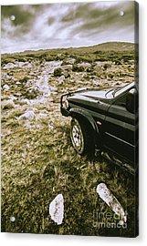 4x4 Tour Tasmania Acrylic Print