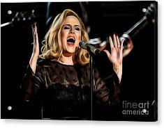 Adele Collection Acrylic Print