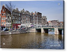 Amsterdam Acrylic Print by Andre Goncalves