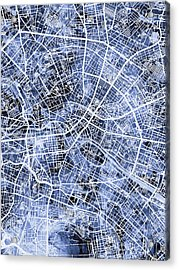 Berlin Germany City Map Acrylic Print