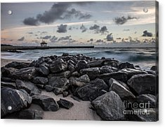 Boynton Beach, Florida Acrylic Print by Richard Smukler