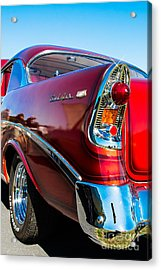56 Chevy Bel Air Acrylic Print