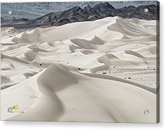 Acrylic Print featuring the photograph Dumont Dunes 5 by Jim Thompson