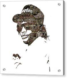 Eazy E Straight Outta Compton Acrylic Print
