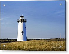Edgartown Lighthouse Acrylic Print by John Greim