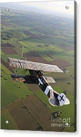 Fokker D.vii World War I Replica Acrylic Print