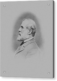 General Robert E Lee Acrylic Print by War Is Hell Store