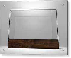 Glass Display Case Acrylic Print