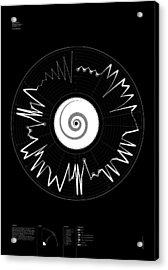 5 Harmony Acrylic Print by Oddityviz Space Oddity