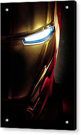 Iron Man Acrylic Print by Unknown