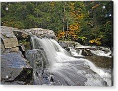 Jackson Falls Acrylic Print by Jim Beckwith