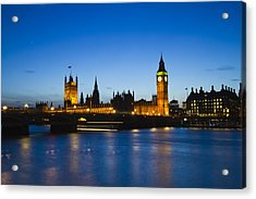 London  Skyline Big Ben Acrylic Print