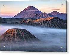 Mount Bromo - Java Acrylic Print by Joana Kruse