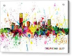 Oklahoma City Skyline Acrylic Print