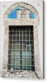 Old Window Acrylic Print by Tom Gowanlock